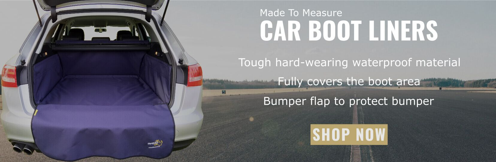Car Boot Liners Banner